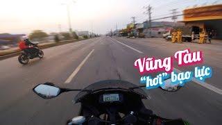 TOUR MÉM BẠO LỰC VŨNG TÀU   TRAVEL VLOG   Vietnam motovlog