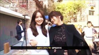 Video 161016 [SNSD] Yoona & Ji Chang Wook - The K2 BTS download MP3, 3GP, MP4, WEBM, AVI, FLV Februari 2018