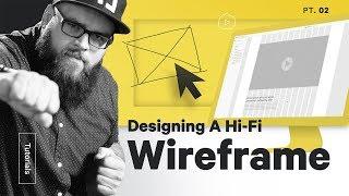 Wireframe \u0026 UX Design in Adobe XD — Web Design Pt 2