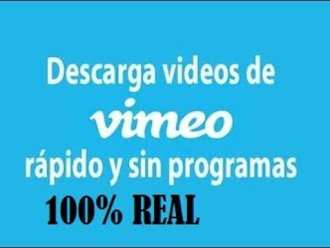 Como Descargar  Videos PROHIBIDOS de VIMEO| 100% REAL