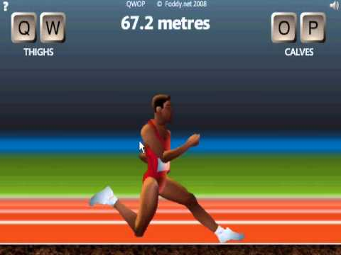 Hacked qwop! qwop Win! how to beat qwop!