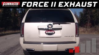 2012-14 Cadillac Escalade 6.2L - Force II Cat-back Exhaust System 817622