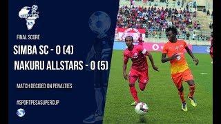 Mikwaju ya penati iliyoiondoa Simba SportPesa Super Cup June 6 2017