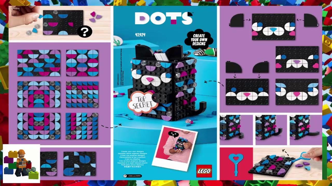 LEGO instructions   Dots   20   Secret Holder