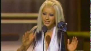 Nick & Aaron Carter present to Christina A.~ Billboard (12-05-00)