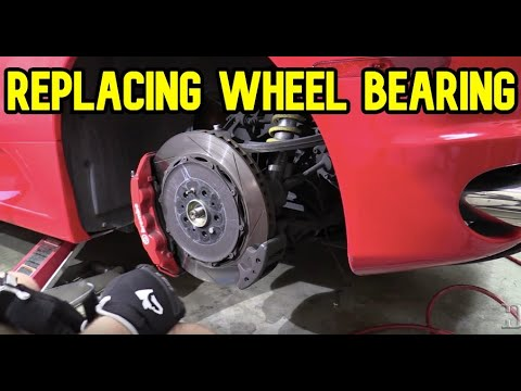 How to replace a wheel bearing on a Ferrari F430