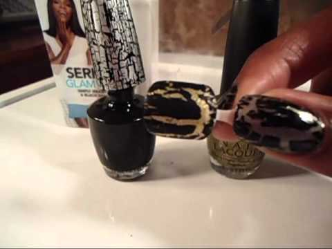 OPI Katy Perry & Serena Williams Shatter Polish Swatches & Review and CONTEST UPDATE!