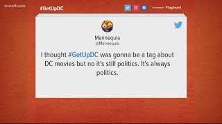 So is #GetUpDC really only about politics?
