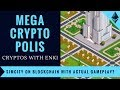 MegaCryptoPolis - SimCity on Blockchain with Actual Gameplay? | Crypto Games