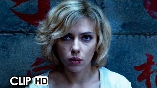 Lucy Official Movie Clip - Car Chase (2014) - Scarlett Johansson Movie HD