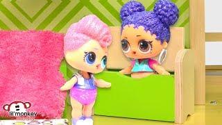 LOL Surprise Dolls Play Hide n' Seek!!