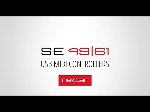 Nektar SE49 & SE61 MIDI Controller Keyboards