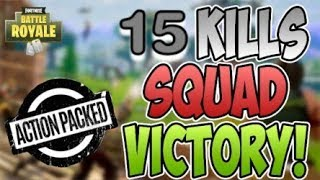 13 Frag Kills - Action Packed - Xbox Fortnite Gameplay - LND Fluffy