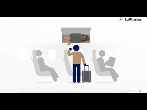 How to: Stowing luggage securely | Lufthansa