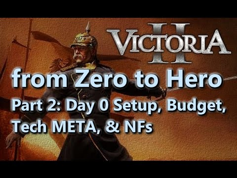From Zero to Hero - Victoria II Tutorial/Guide - Part 2 - Economy, Tech, etc.
