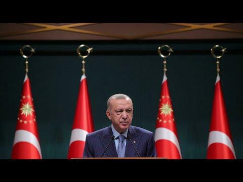 ...تركيا: أردوغان يعدل عن قراره طرد عشرة سفراء غربيين طا