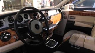 Аренда авто в москве Rolls Royce / роллс ройс Фантом белый
