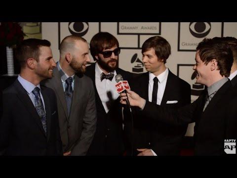 AUGUST BURNS RED: Grammys Red Carpet Interview