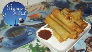 Ramzan special Chicken chinese roll || 2 ways folding || Ramzan special recipes