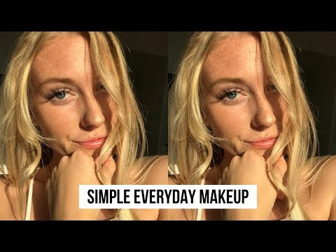 Everyday Makeup Routine for Blue Eyes UPDATED