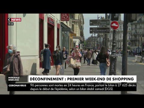 Déconfinement : premier week-end de shopping
