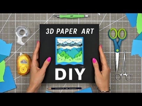 DIY | How To Make a Paper Sculpture | Time  Lapse | OLGA SKOROKHOD