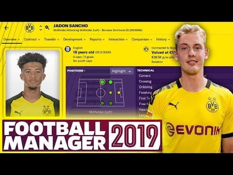 MY DORTMUND JOURNEY ON FOOTBALL MANAGER!