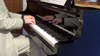 Scott Joplin - The Entertainer (ragtime, pianist Luca Raggi)