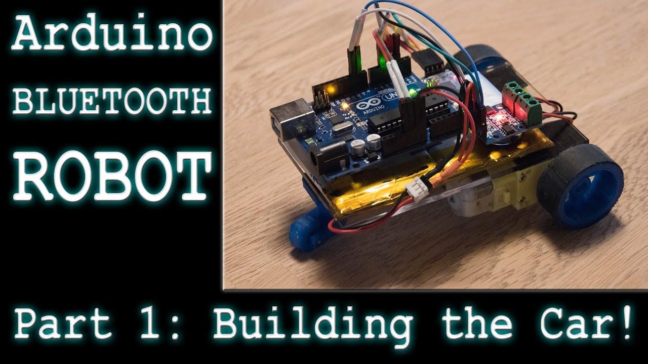 Making a diy arduino rc robot car part selecting