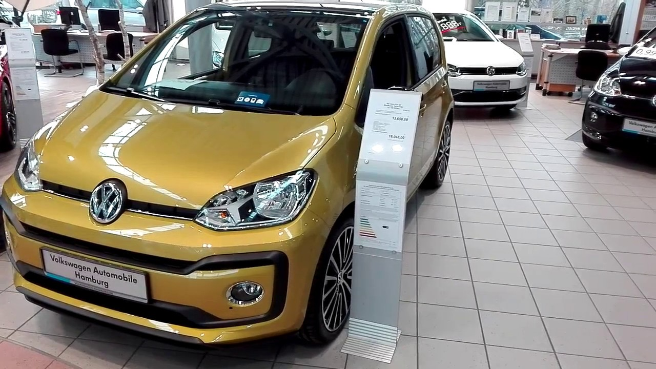 Cars Brandnew Vw Up Facelift 2017 New Color Walk Around