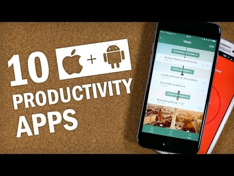 10 Essential Productivity Apps for iPhone and Android