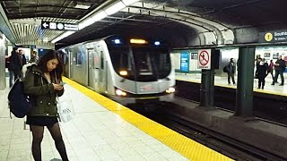 Toronto Subway - Yonge Line Bloor to Dundas