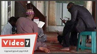 مقرأة لتلاوة القرآن الكريم بالجامع الأزهر للصائمين