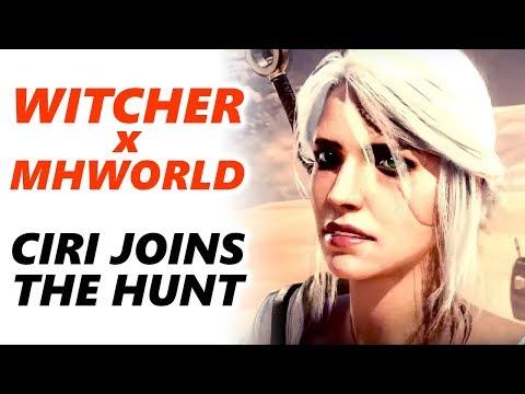 WITCHER 3 Ancient Leschen in Monster Hunter World thumbnail