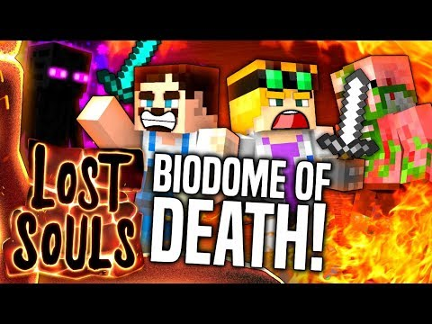 Minecraft - BIODOME OF DEATH! - Lost Souls #27