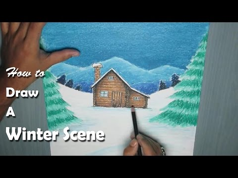 Thumbnail: How to Paint a Winter Night Scene with Oil Pastel