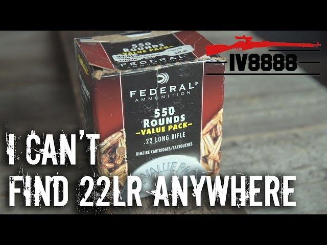 "Gun Gripes #129:  ""I Can't Find 22LR Anywhere..."""