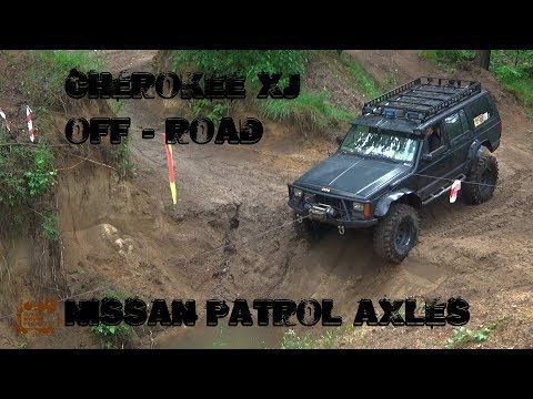 Jeep Cherokee Xj 4.0 HO with nissan patrol axles off road