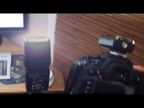 Portable Wireless Flash Tripod Setup DIY