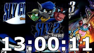 Sly Cooper Trifecta Speedrun in 13:00:11 [World Record]
