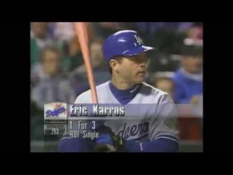 Hideo Nomo No Hitter: Dodgers @ Rockies 9/17/97