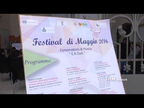 Al via il Festival di Maggio del Conservatorio di Matera