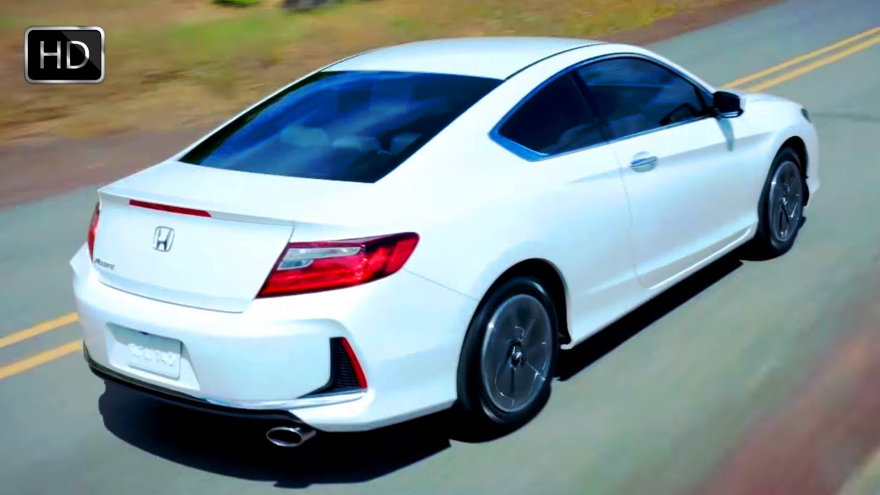2016 Honda Accord Lx S Coupe With 185 Hp 2 4 L Dohc I Vtec Engine Test Drive Hd You