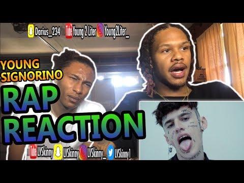 (Italian Rap) Young Signorino - Mmh ha ha ha(Reaction Video)