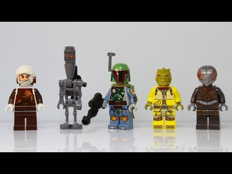 Star Wars Bounty Hunters Scene In Lego (using The Minifigs From The Set 75167 )