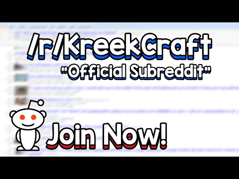 Official KreekCraft Subreddit Announcement! + How to Use Reddit!