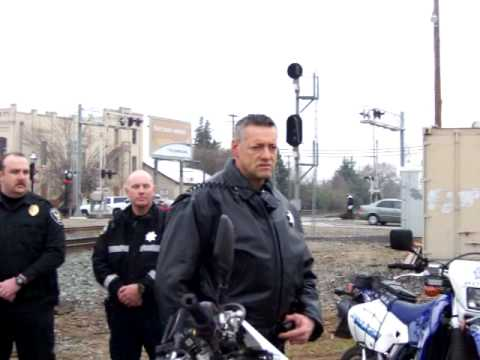 Elk Grove, Union Pacific Railroad Police Conduct Sweep