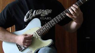 Midnight Blue/Lou Gramm (tutorial) - cover by Tonedr