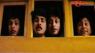 Sivaji Gang Enjoying Live Blue Film - Comedy Scene