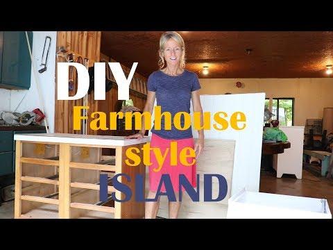 Farmhouse Style Island